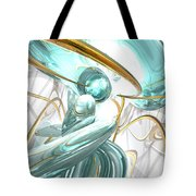 Teary Dreams Abstract Tote Bag