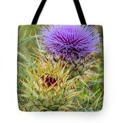 Teasel In Bloom Tote Bag