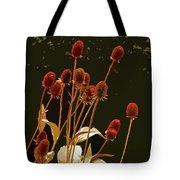 Teazels In A Secret Garden  Tote Bag