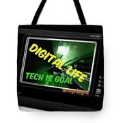 Tech Is Goal Tote Bag