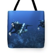 Technical Divers With Equipment Tote Bag