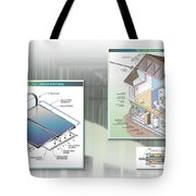 Technical Illustration Tote Bag