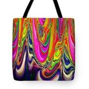 Technicolor Magma Tote Bag