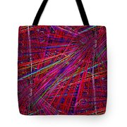 Technicolor Pick Up Stix Tote Bag