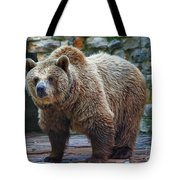 Teddy Bear Alive Tote Bag