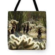 Teddy Bear Forest Tote Bag