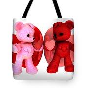 Teddy Bearz Valentine Tote Bag