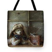 Teddy Fly Boy Tote Bag