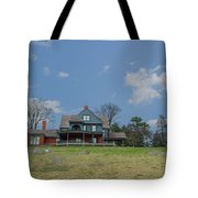 Teddy Roosevelts House - Sagamore Hill Tote Bag