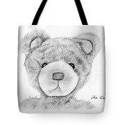 Teddybear Portrait Tote Bag