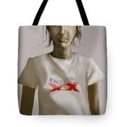 Tee Shirt Portrait Tote Bag