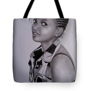 Teenage Beauty Tote Bag