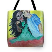 Speedy Gonzales The Mexican Girl Tote Bag by Mimi Eskenazi