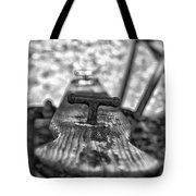 Teeter Totter Tote Bag by Bitter Buffalo Photography