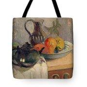 Teiera Brocca E Frutta Tote Bag