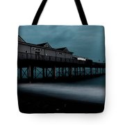 Teignmouth Pier At Dusk  Tote Bag