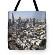 Tel Aviv And Ramat Gan Israel Tote Bag
