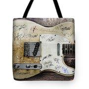 Telecaster Guitar Fantasy Tote Bag
