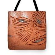 Tell Eye - Tile Tote Bag