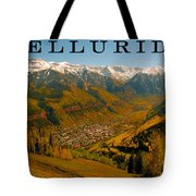 Telluride Colorado Tote Bag by David Lee Thompson