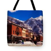 Telluride For The Holiday Tote Bag