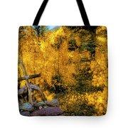 Telluride Spirituality - Colorado - Autumn Aspens Tote Bag