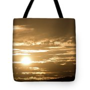 Telstra Tower Sunset Tote Bag