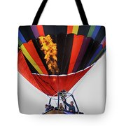 Temecula, Ca - Flames Over Wine Country Tote Bag