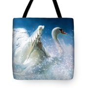 Tempestuous Beauty Tote Bag by Isabella Howard