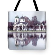 Temple And Bell Tower II Tote Bag