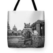 Temple Architecture Tote Bag
