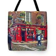 Temple Bar 0554 Tote Bag