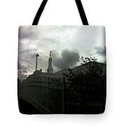 Temple Behinde The Gates Tote Bag