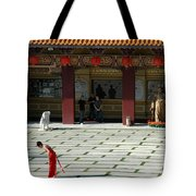 Temple Bow Tote Bag
