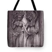 Temple Dancers Tote Bag