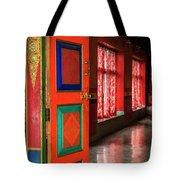 Temple Door Tote Bag