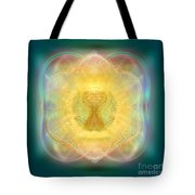 Temple Fire Chalice Tote Bag