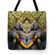 Temple God Tote Bag
