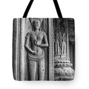 Temple Guardian Tote Bag