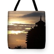 Temple In India Tote Bag
