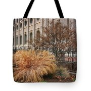Temple Landscaping Tote Bag