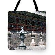 Temple Lanterns  Tote Bag