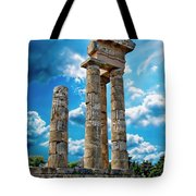 Temple Of Apollon Tote Bag