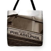 Temple Of Doom Trimotor Tote Bag