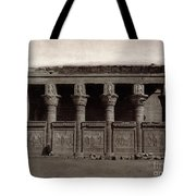 Temple Of Hathor, Early 20th Century Tote Bag