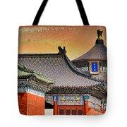 Temple Of Heaven Tote Bag