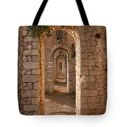 Temple Of Jupiter Anxur Tote Bag