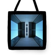 Temple Of Light Tote Bag