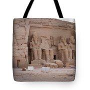 Temple Of Rameses II Tote Bag
