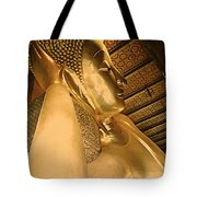 Temple Of Reclining Buddha  Tote Bag